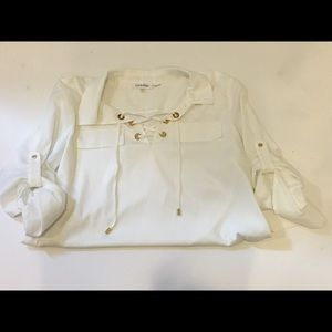 Tops - Calvin Klein casual blouse